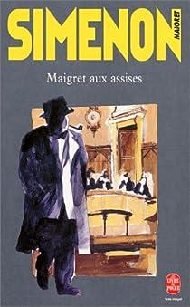 Maigret aux assises par Simenon