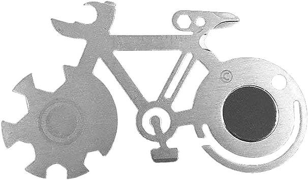 Herramientas de bolsillo para bicicleta al aire libre, camping, multiusos, herramienta de supervivencia, herramienta de supervivencia: Amazon.es: Bricolaje y herramientas