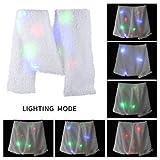 LED Scarf, Aomeiqi Flashing Colorful LED Lighting