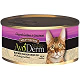 AvoDerm Natural Wild by Nature Chopped Sardines in Consomme Cat Food, 3-Ounce Cans, Case of 24
