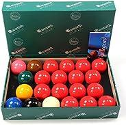 Premier Snooker Ball Set by Aramith, 22 balls, 2-1/16&