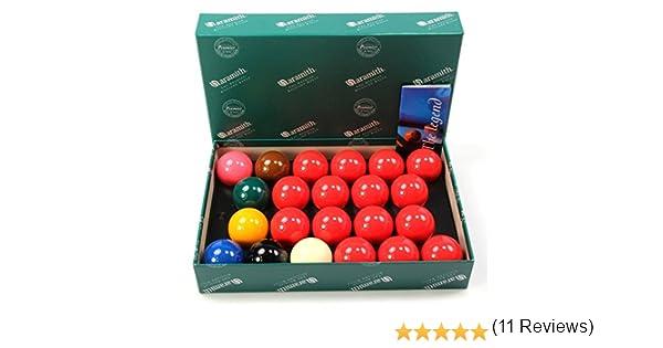 Bolas de juego de 2 pulgadas (bola de billar (50,8 mm) Aramith premier – 22: Amazon.es: Deportes y aire libre