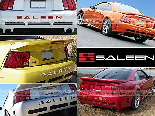 Sf Sales Usa Red Rear Bumper Letter Inserts For Mustang Saleen