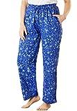Dreams & Co. Women's Plus Size Knit Sleep Pants
