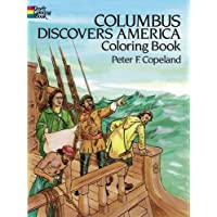 Columbus Discovers America Coloring Book