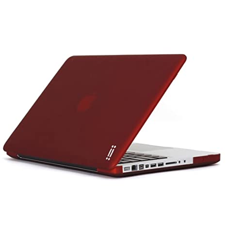 "Aiino Hard Shell - Funda dura para portátil Apple MacBook Pro 13"", color rojo"