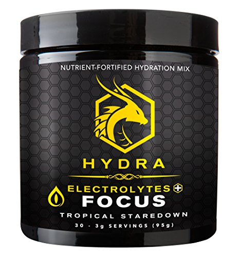 HYDRA Hydration Electrolytes Servings Staredown product image