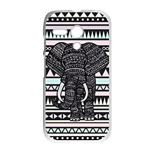 Motorola Moto G Phone Cases Elephant Aztec Durable Design Phone Case TTYW186227