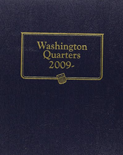 2009 Washington Quarter Album with Territory Page (State Series Quarters Album With New (Whitman State Quarter Album)