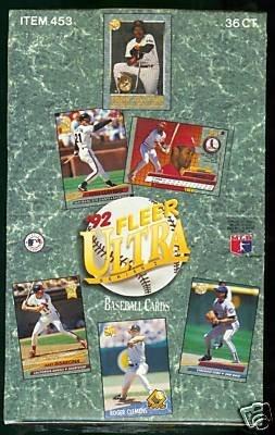 1992 Fleer Ultra One Baseball Card Unopened Hobby Box ()