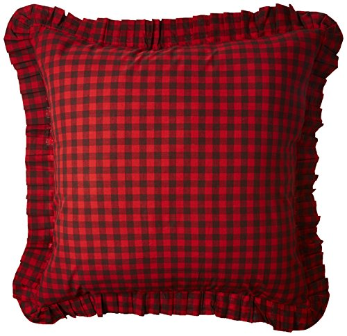 C&F Home Buffalo Checks Euro Sham, 26 by 26-Inch (Check Sham)
