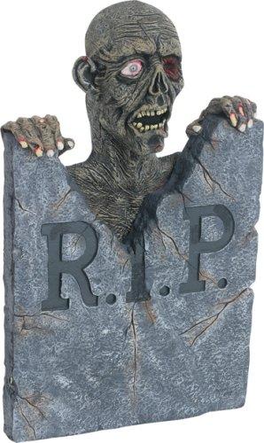 Halloween Animated Zombie Tombstone Prop