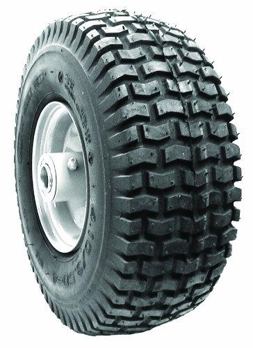 Oregon 72-729 Pneumatic Wheel 410/350-4 2-Ply Tubeless Turf Tread Tire
