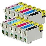 【むさしのメディアオリジナル】 EPSON互換 IC6CL50 (6色セット x 2パック) インクカートリッジ エプソン 互換 *ICチップ(残量表示機能)付き [フラストレーションフリーパッケージ(FFP)]