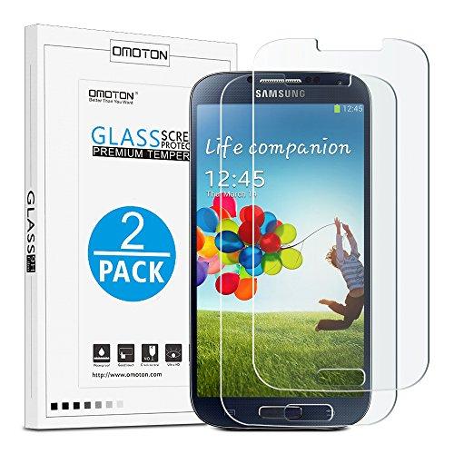 OMOTON Galaxy Screen Protector Tempered Glass