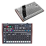 Arturia Drumbrute Analolg Drum Machine with Decksaver Protective Acrylic Cover by Arturia