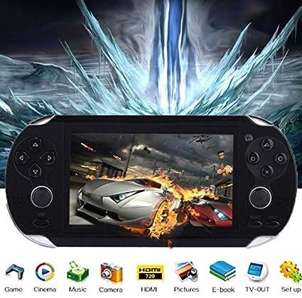 Amazon.com: Mingbao 8 GB 4,3 pulgadas gratis 3000 juegos ...