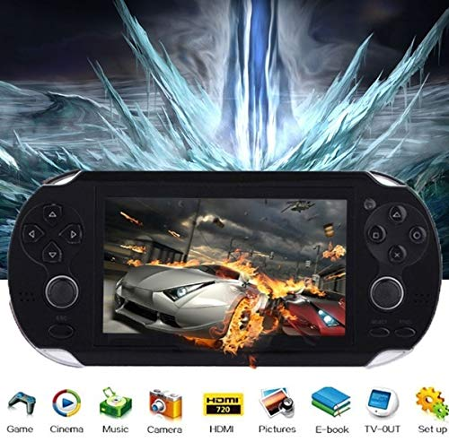(Mingbao 8GB 4.3 Inch Free 3000 Games Handheld Game Player Video Game Console MP4 MP5)