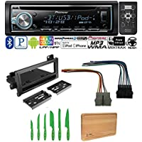 PIONEER CAR STEREO RADIO BLUETOOTH CD PLAYER DASH INSTALL MOUNT HARNESS ANTENNA DODGE EAGLE JEEP PLYMOUTH