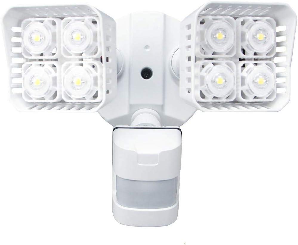 TYZXR Luces LED para Exteriores con Sensor de Movimiento de Seguridad, 30W (Equivalente a 250W incandescente) 3400lm, luz Diurna de 5000K, luz de inundación a Prueba de Agua