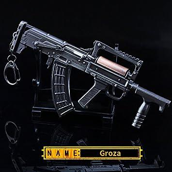 Highcat Pubg Keychain Playerunknown Battleground Groza Gun Amazon