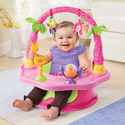 Summer Infant 3-Stage SuperSeat Deluxe Giggles Island Positioner, Booster and Activity Seat for Girl by Summer Infant (Image #7)
