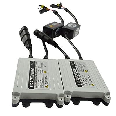 Safego Bi Xenon HID Ballast 55W Replacement for 9006 8000K 6000K H11 HID Conversion Kit Headlights Bulbs 12V