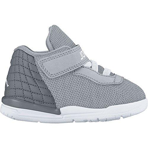 Jordan , Chaussures spécial basket-ball pour garçon gris gris