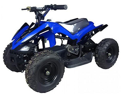 Mars 350W 24V Electric Ride-On ATV for Kids, Blue