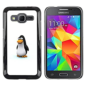 Exotic-Star ( Funny Cute Penguin ) Fundas Cover Cubre Hard Case Cover para Samsung Galaxy Core Prime / SM-G360
