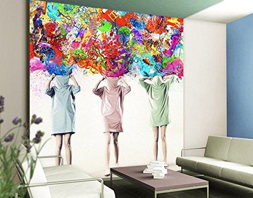 Apalis Fototapete Brain Explosions, Dimension  270 cm x 216 cm