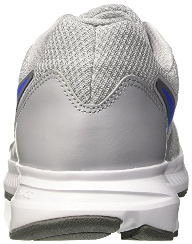 Nike Herren Downshifter 6 Laufschuhe Grau (Wolf Grey/Racer Blue/Cool Grey)