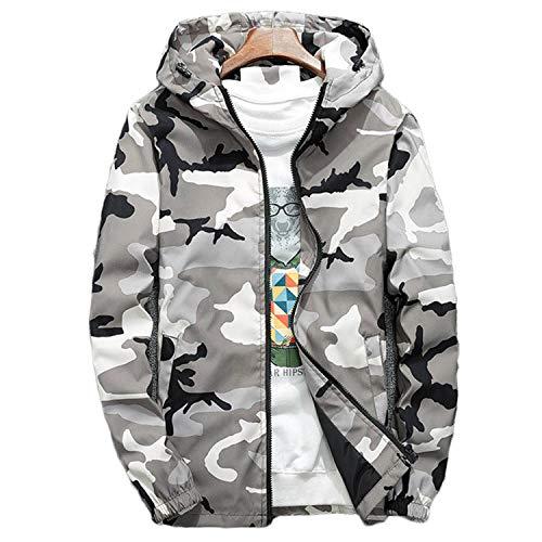 Marque Camouflage Vestes N438 Manteaux Hommes Vent Coupe Homme TlF1J3Kc