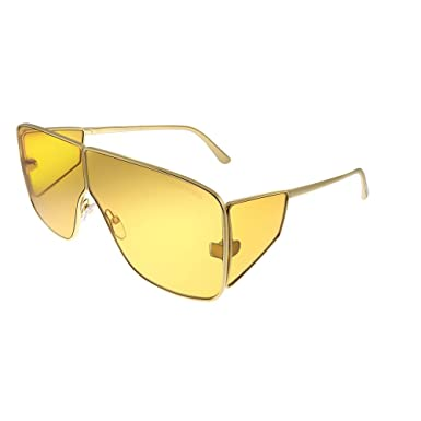 Amazon.com: Gafas de sol Tom Ford FT 0708 Spector 33E dorado ...