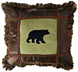Carstens Bear On Pine Pillow