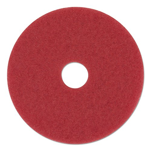 Premiere Pads 4020RED Floor Buffing/Cleaning/Polishing Pad, 20″ Diameter, Red (Case of 5) by Premiere Pads