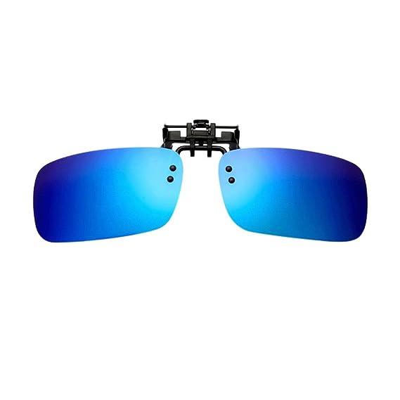 Hzjundasi Hombre Mujer Gafas de Sol Sin Montura Rectangular Vintage Polarizadas UV400 Portección Anti Reflejante Lectura