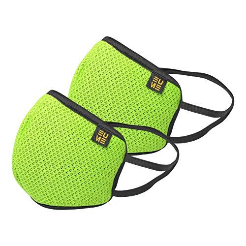 EUME Protect+ 95 Reusable and Washable Face Mask (UNISEX) – (Green, Pack of 2) Price & Reviews