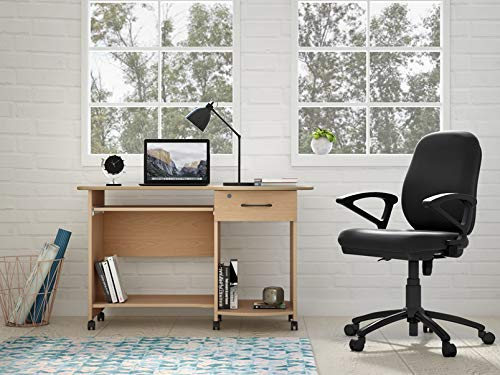 Godrej Interio Companion C3 Engineered Wood Computer Desk  Straight, Finish Color   Beverian Beech  Desks   Workstations