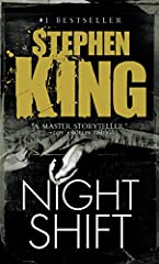 """Night Shift—Stephen King's first collection of stories—is an early showcase of the depths that King's wicked imagination could plumb. In these 20 tales, we see mutated rats gone bad (""""Graveyard Shift""""); a cataclysmic virus that threatens hum..."""