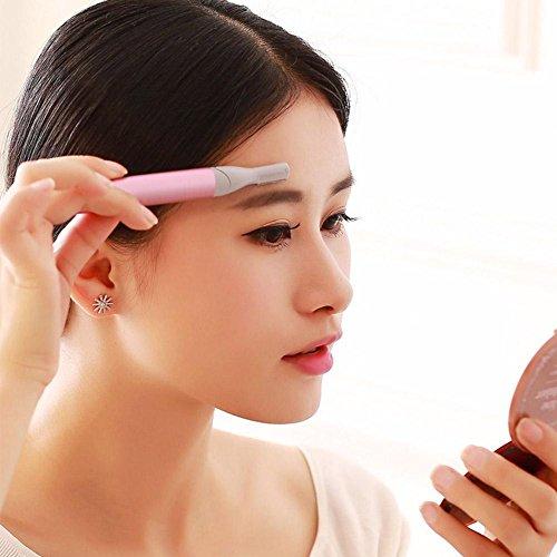 Ms. HZJ Electric Personal Care Sourcil-Couteau De Taille Multifonctionnelle Dispositif D'EnlèVement De Cheveux Du Corps