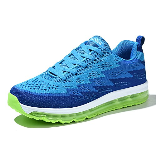 DADAZE Men Women Casual Sports Shoes Air Trainers Fitness Flats Running Athletic Competition Walking Sneakers Country Walker Walking Shoe