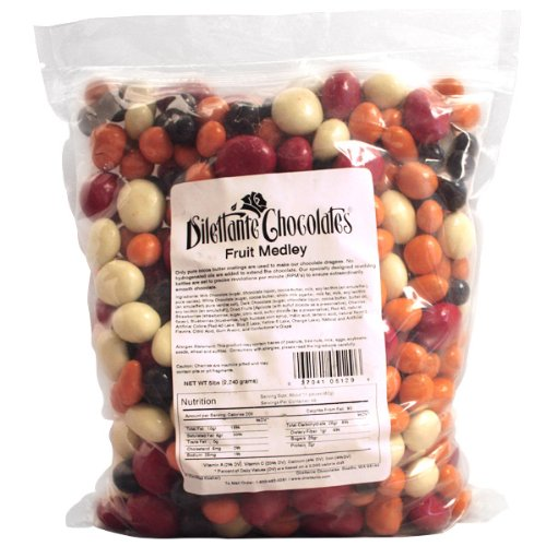 Chocolate Covered Fruit Medley Dragées - 5lb Bulk Bag - by Dilettante by Dilettante