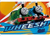 """Thomas The Train & Friends """"WHEESH!"""" Kids Plastic Placemat! Makes Clean Up A Breeze!"""