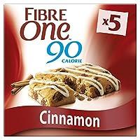 Fibre One 90 Calorie Cinnamon Drizzle Squares, 5x24 g