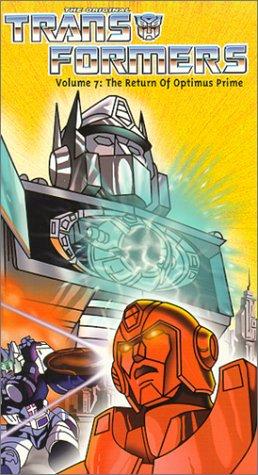 Transformers Vol. 7 - Return of Optimus Prime [VHS] (Optimus Prime Movie)