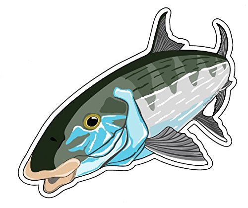Mountain Creek Anglers Bonefish Sticker Decal