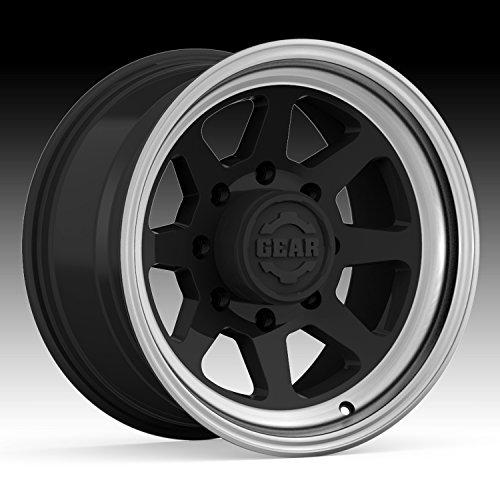 Gear Alloy 749MB Trek 17×9 8×170 -12mm Black/Machined Lip Wheel Rim