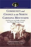 Community and Change in the North Carolina Mountains, Nannie Greene, Catherine Stokes Sheppard, Sarah Jean Joslin, 0786425938