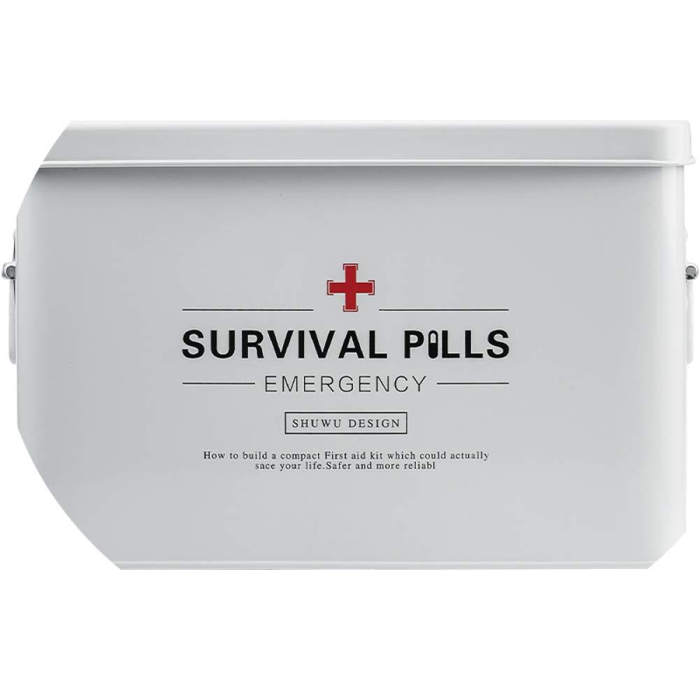 box Scatola Medica, Kit di Primo Soccorso Extra Large a più Strati Kit di Primo Soccorso Extra Large a più Strati